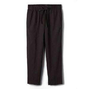 Aritzia Babaton Errol Linen Black Pants | Small